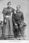 Rev. M. L. Latta and wife