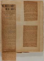 Florence G Sammet Rothschild Scrapbook, 1908, page 24
