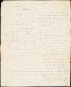Letter from Richard Ball, Redland near Bristol, [England], to William Lloyd Garrison, 1833 [June] 29th