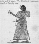Representation of an Egyptian king
