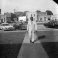 Lucius Amerson, sheriff of Macon County, Alabama, in downtown Tuskegee.