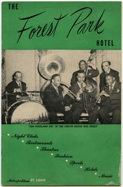 Information booklet of The Forest Park Hotel, ca. 1955