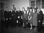 Brookins and guests, Los Angeles, 1962