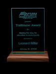 Association for Minorities in Motorsports trailblazer award given to Leonard W. Miller, 2002