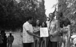 Harry Belafonte Accepts Award, Los Angeles, 1983