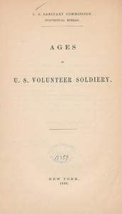 Ages of U.S. volunteer soldiery