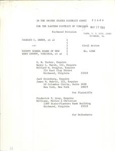 Memorandum of the Court