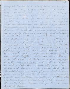 Letter from Zadoc Long to John D. Long, September 9-October 1, 1856