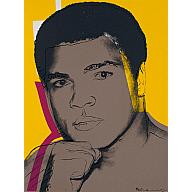 Muhammad Ali - Hand on Chin