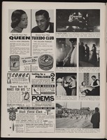 Magazine page with various photographs of Leontyne Price