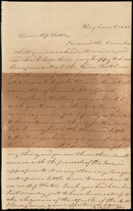 Letter from Evelina A. S. Smith, Hingham, [Mass.], to Miss Weston, Dec. 25