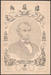 Allegorical portrait of Abraham Lincoln