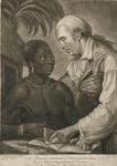 The benevolent effects of abolishing the slave trade or the planter instructing his negro