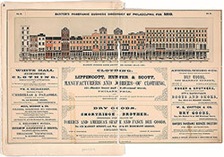 Baxter's Panoramic Business Directory of Philadelphia for 1859