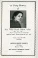 Nellie Marsh Hubert Holmes