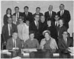 C. Edward Singer, center row, extreme left