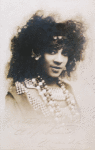 Postcard of Kathlyn Jones, wearing elaborate jewelry and costume