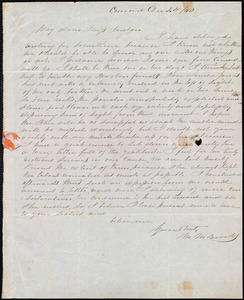Letter from Mary Merrick Brooks, Concord, [Mass.], to Anne Warren Weston, Dec. 4th / [18]40
