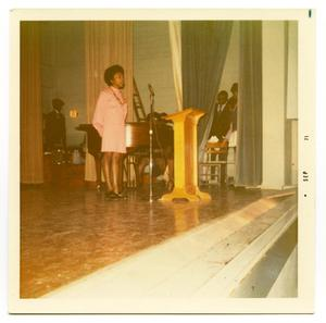 Jackie Atkins Singing