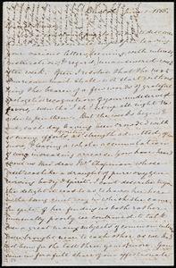 Letter from Mary Anne Estlin, Bristol, [England], to Anne Warren Weston, June 1, 1855