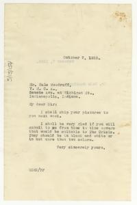 Letter from W. E. B. Du Bois to Hale Woodruff