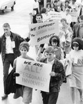 Young marchers