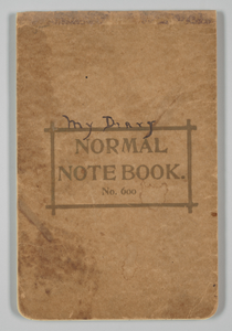 Diary written by Jessie Greer