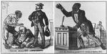 "Scenes in the First Reconstructed Legislature. [Cartoons from "" The Loil Legislature, "" by Captain B. H. Screws.]"