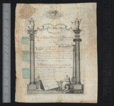 Certificate of initiation : manuscript, 1799 June 23, Recto