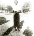 Photograph of Audrey James in Mississippi, 1951