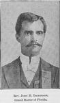 Rev. John H. Dickerson; Grand Master of Florida