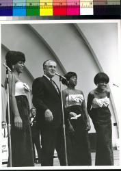 George Romney with the Supremes, Michigan State Fair