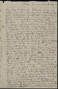 Letter from Richard Davis Webb, Dublin, [Ireland], to Maria Weston Chapman, Sunday, May 29, 1859