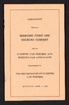 Agreement between Seaboard Coast Line Railroad Company and its sleeping car porters and sleeping car attendants represented by the Brotherhood of Sleeping Car Porters