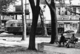 """""""The route 23 trolley passes Vernon Park"""""""