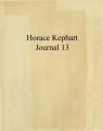 Horace Kephart Journal 13