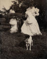 Celia, Katharine Hammond Billings, John Shaw Billings, [and] Preble [the dog], 1898.