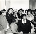 Mahalia Jackson with a group of African American women