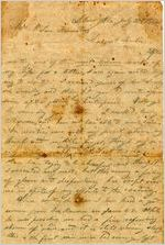 Letter, Alex W. Feemster to Loulie Feemster; 7/31/1864