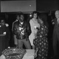 Gwendolyn Brooks was an American poet, author, and teacher, the first African American to win the Pulitzer prize. Brooks visited IWU five times between 1972 and 1999. This photo shows Brooks during the 1972 fine arts festival.