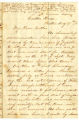 Correspondence from John G. Latta to Lucinda Latta, August 17, 1861