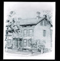 Ohio Guide illustration of John Campbell house