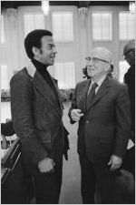 Andrew Young and Augustus Hawkins