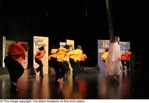 A Group of Dancers Performing Hip Hop Broadway: The Musical