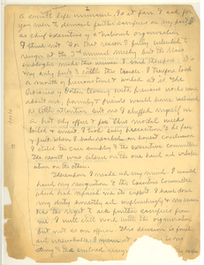 Letter from W. E. B. Du Bois to F. L. McGhee [fragment]