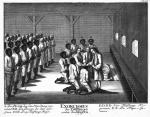 Exorcismus der täuflinge unter den Negern