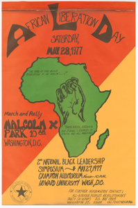 Poster for African Liberation Day