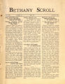 "Thumbnail for ""Bethany Scroll,"" Bethany Lutheran College, Mankato, Minnesota, April 1927, Volume 1 Number 7"