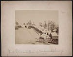 [Winter quarters of 37th New York Infantry Regiment after the Battle of Fredericksburg]