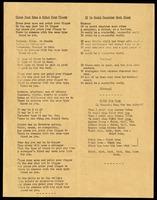 Leaflet. Hymns